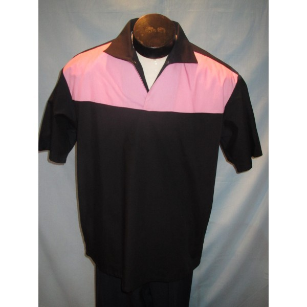 Aaron shirt, black and pink