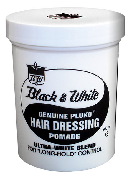 Black & White Hair Dressing Pomade